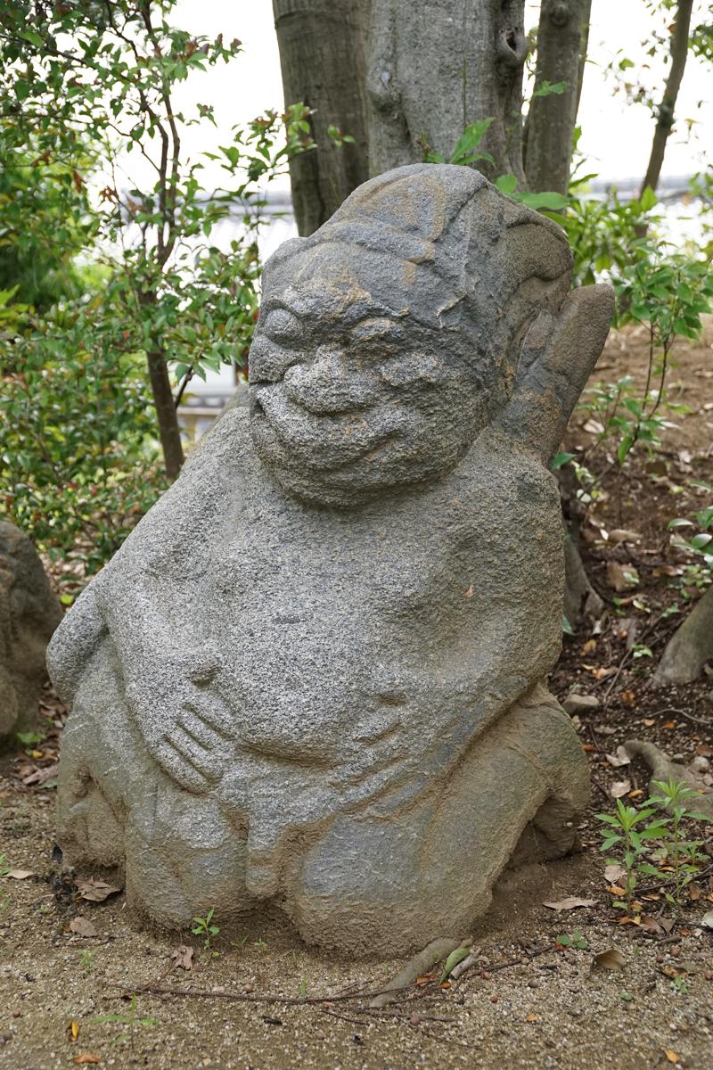 奈良 明日香村 猿石